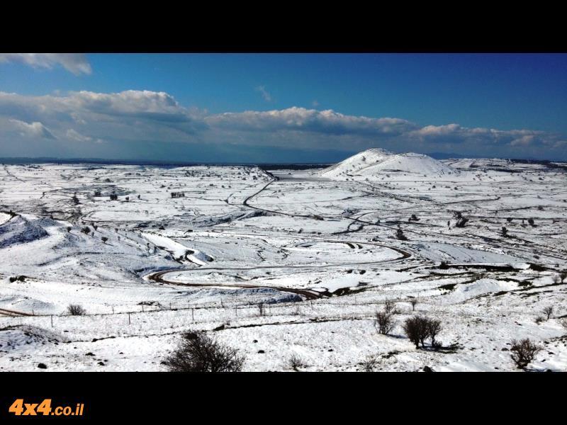 טיול שלג בצפון - ממפל עיט עד להר אודם