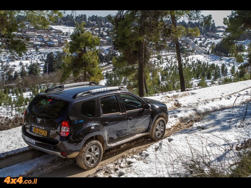 מבחן דרכים דאצ'יה דאסטר Dacia Duster