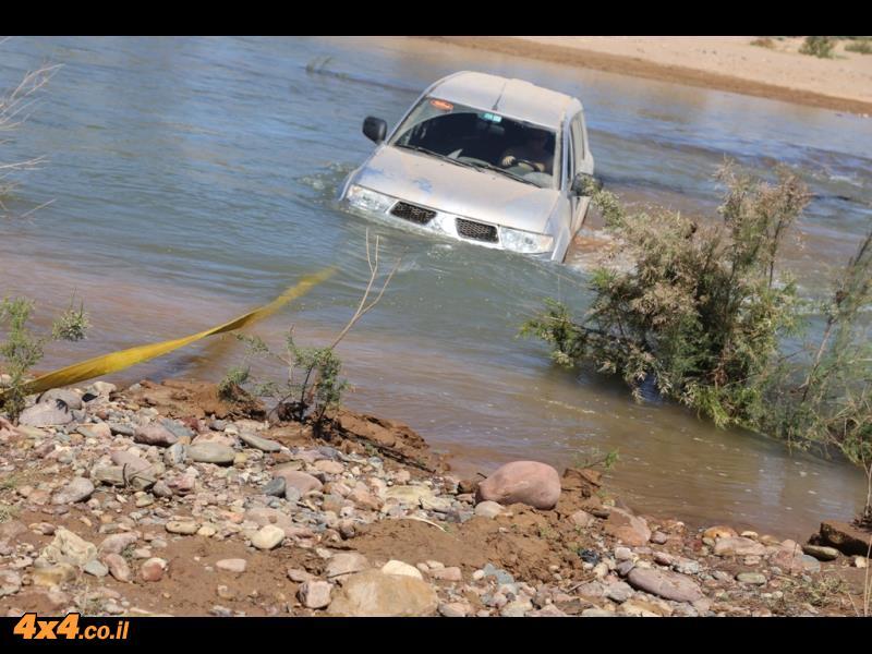 קצה היכולת בחציית נהר הדרא הזורם
