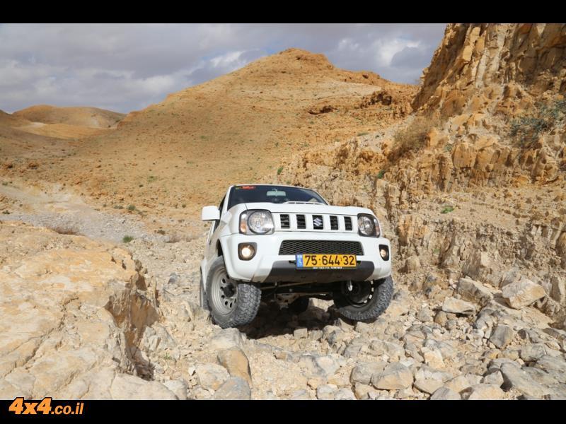 מסלול טיול למרכז מדבר יהודה
