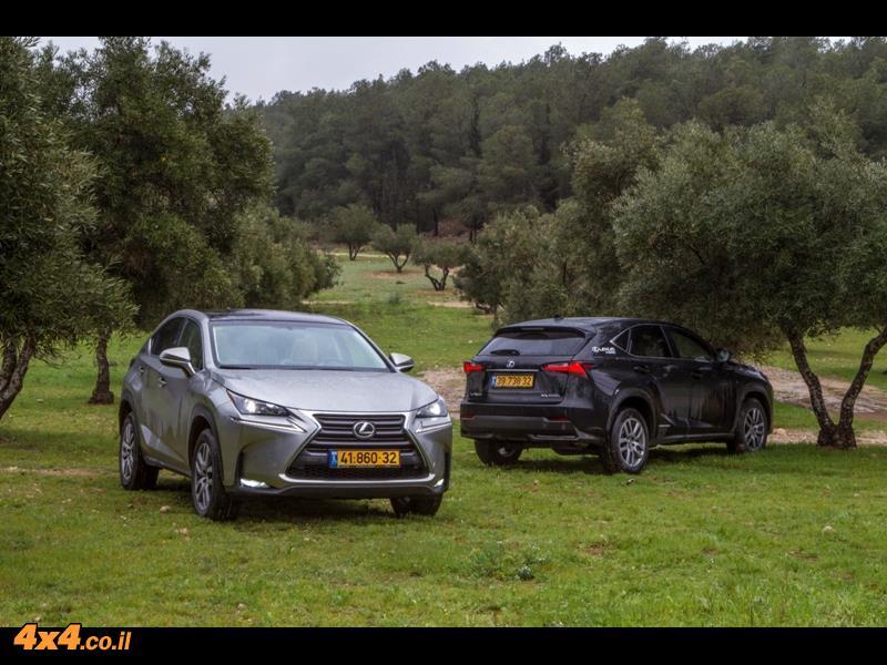 מבחן דרכים לקסוס Lexus NX, יוני 2015