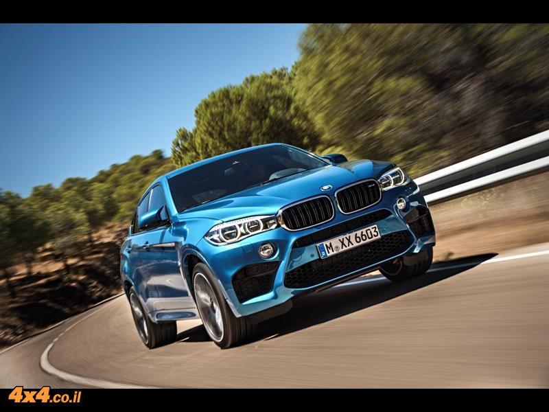 מבחן דרכים ב.מ.וו. BMW X6M