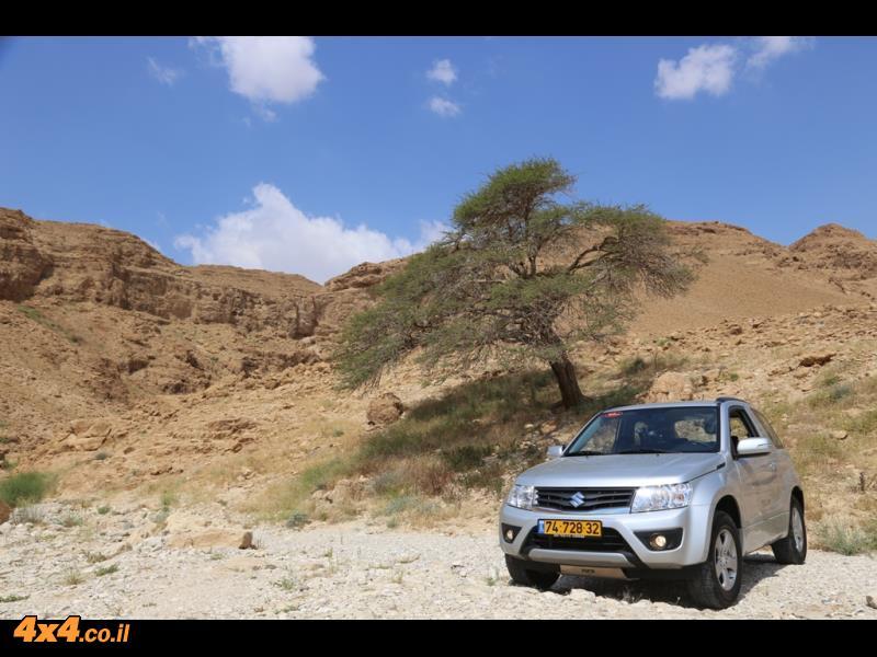 מסלול טיול אל נחל חמר שבדרום מדבר יהודה