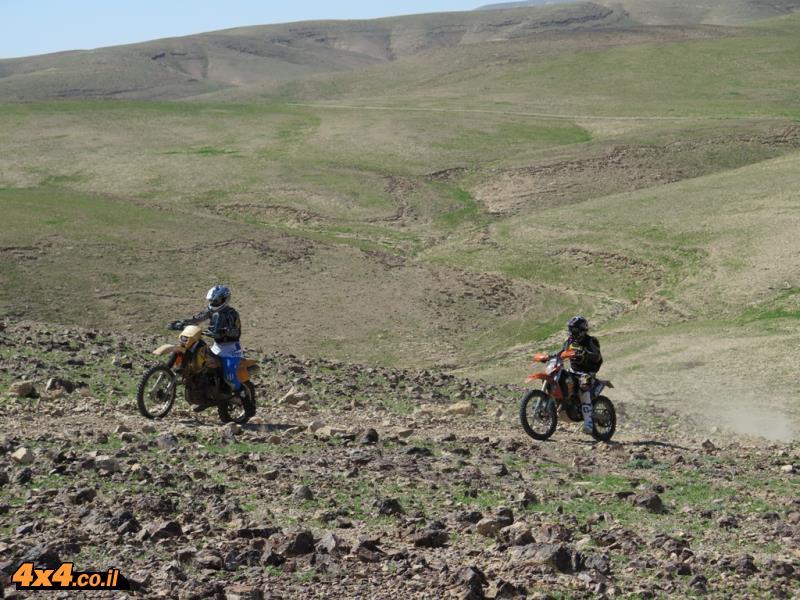 תמונות ממסע אופנועים - מרץ 2015: