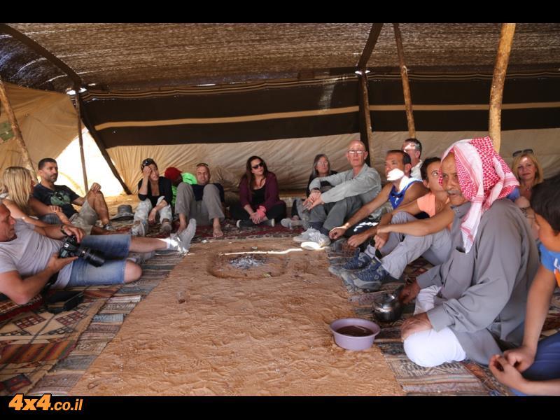 הכנסת אורחים בלב המדבר
