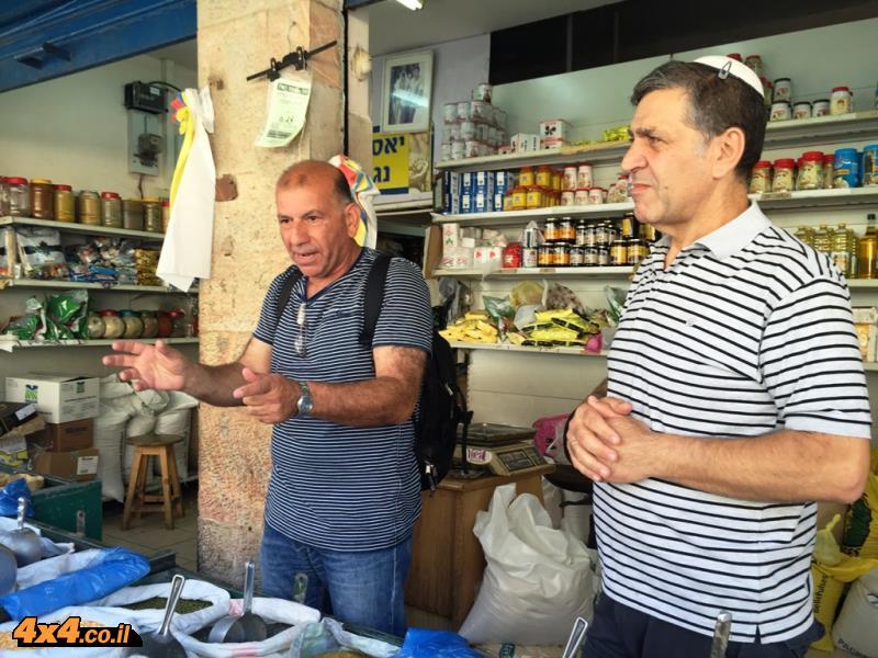 תודה לגדעון מור על הסיור בשוק מחנה יהודה - מרתק!