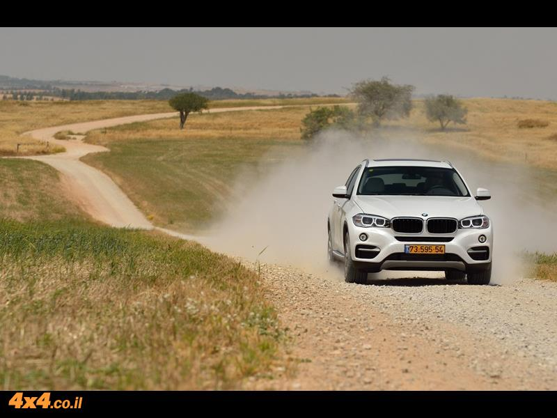 מבחן דרכים ב.מ.וו BMW X6