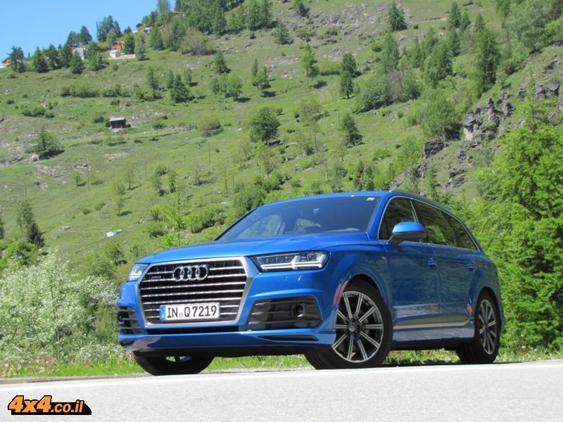 מבחן דרכים: אודי Audi Q7