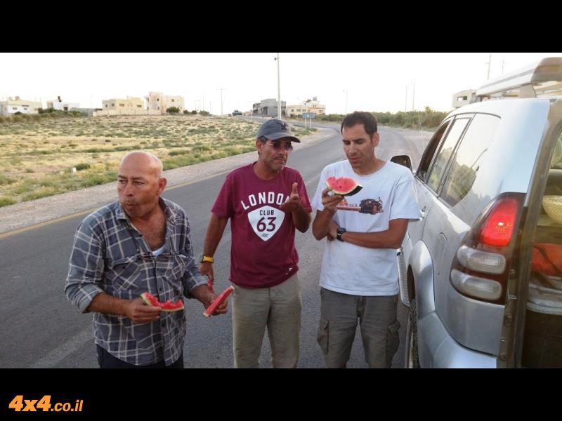 המסע למזרח ירדן - מאי 2015