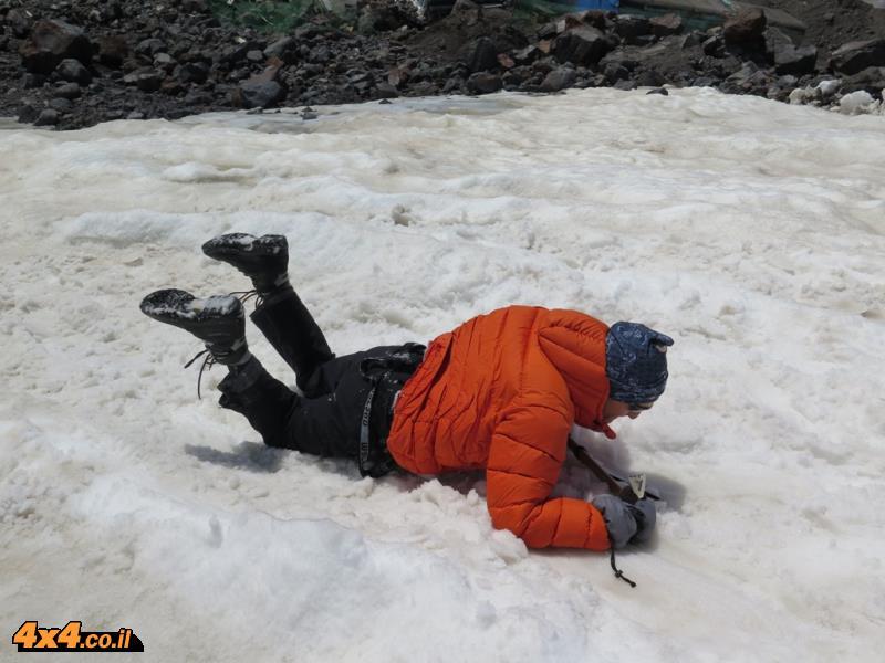 היום הרביעי - אימון בשלג