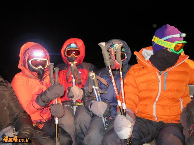 היום החמישי - מטפסים לפסגת האלברוס