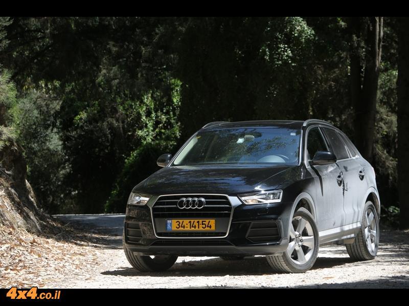 מבחן דרכים - אודי Audi Q3