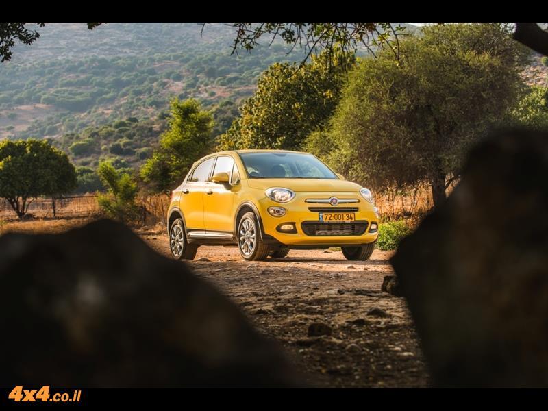 פיאט לשטח Fiat 500X - ג'יפון עם הנעה קדמית