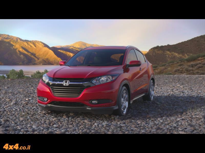 מבחן דרכים - הונדה Honda HR-V