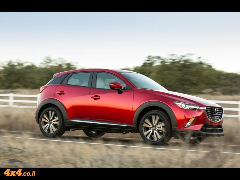 מבחן דרכים מאזדה Mazda CX-3