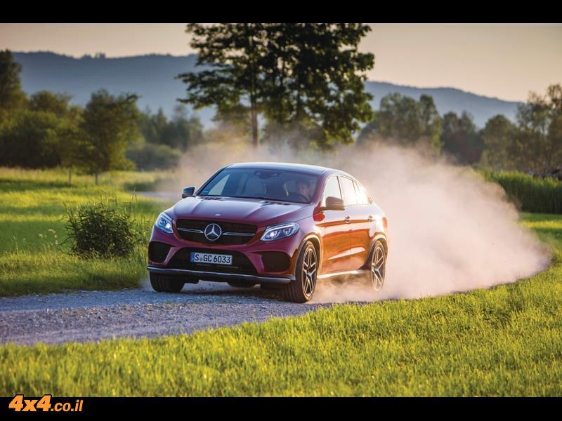 מבחן דרכים - מרצדס Mercedes GLE Coupe