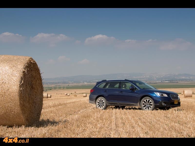 מבחן דרכים סובארו אאוטבק 2015 Subaru Outback
