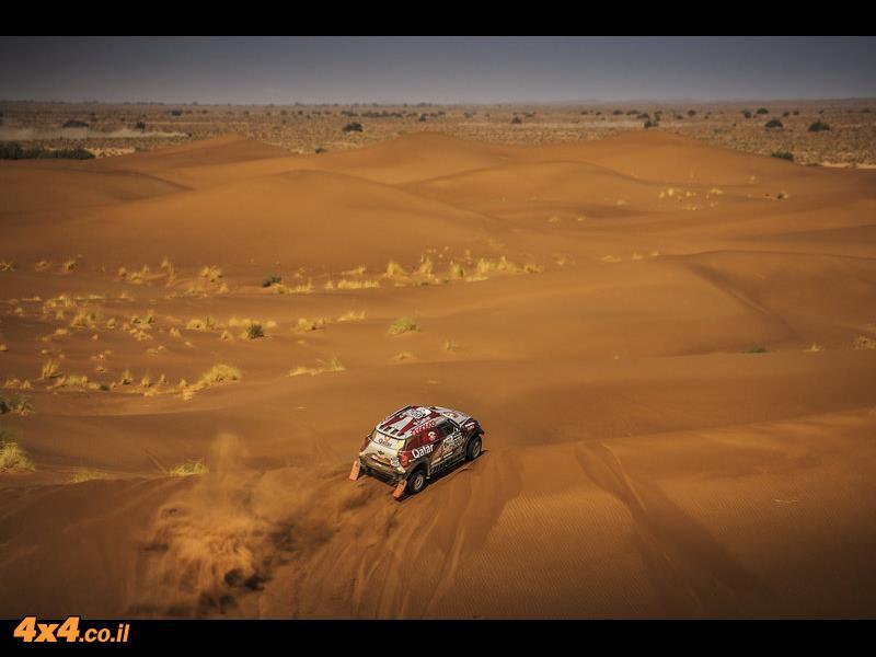 אל-עטייה ניצח בראלי מרוקו