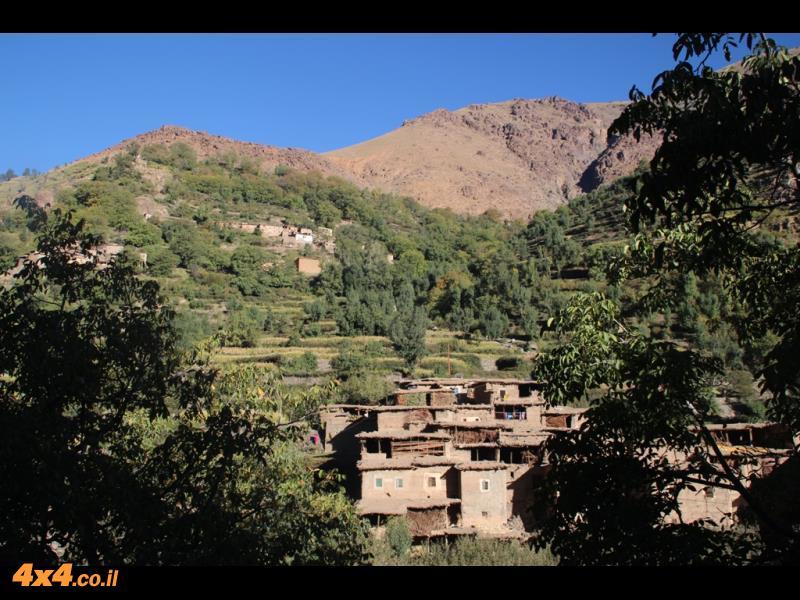 שקט ושלווה בלב ההרים
