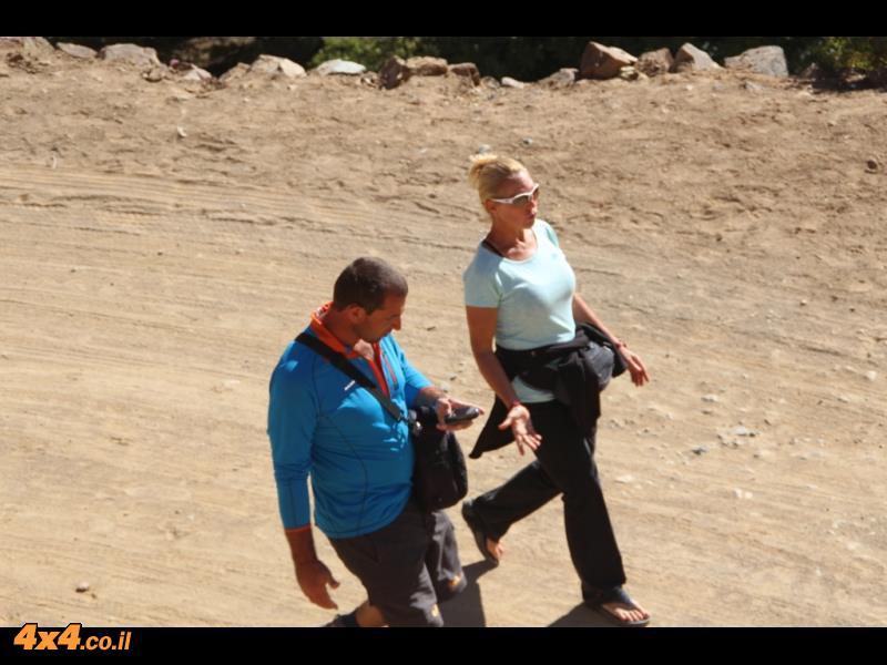 יום רביעי לטיפוס - ירידה בין הכפרים ולסיום נסיעה ברכב בדרך חדשה החוצה את הרי האטלס בשטח