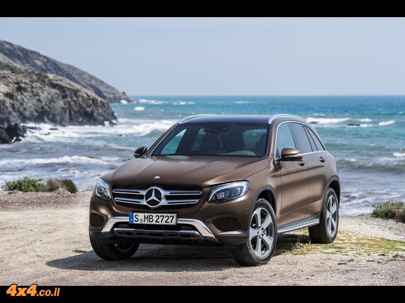 מבחן דרכים מרצדס Mercedes GLC