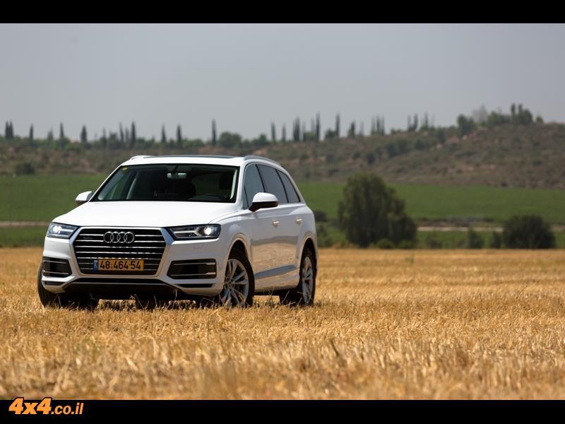 מבחן דרכים - אודי Audi Q7