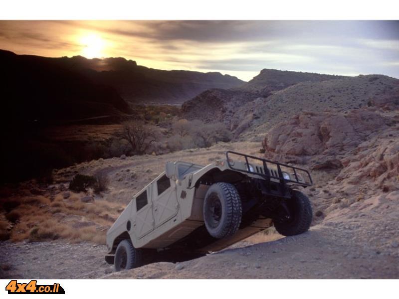 מבחן דרכים האמר צבאי Hummer