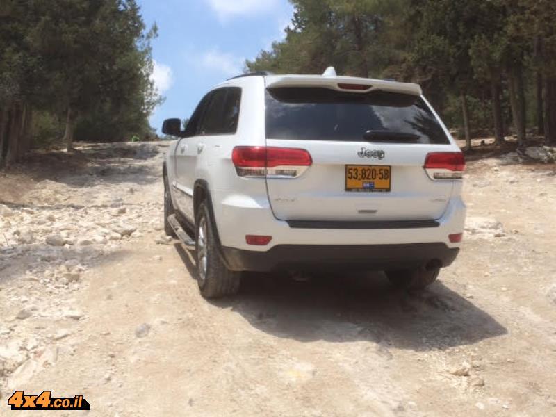 הדרכת נהיגת שטח מועדון ג'יפ בהר חורשן - אוקטובר 2015
