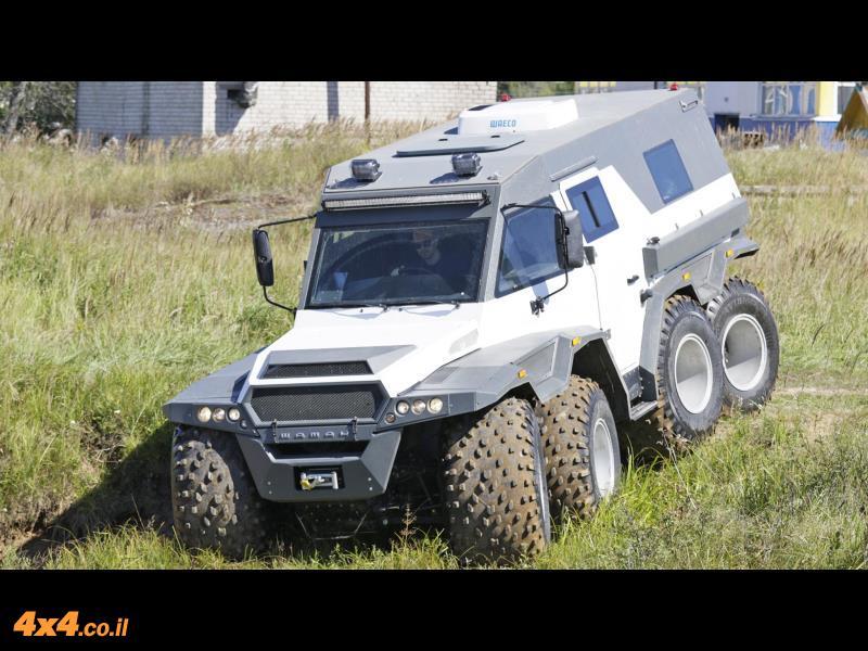 רכב השטח שאף פעם לא יהיה לנו – Avtoros Shaman