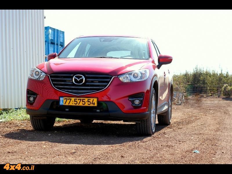 מבחן דרכים: מאזדה Mazda CX-5