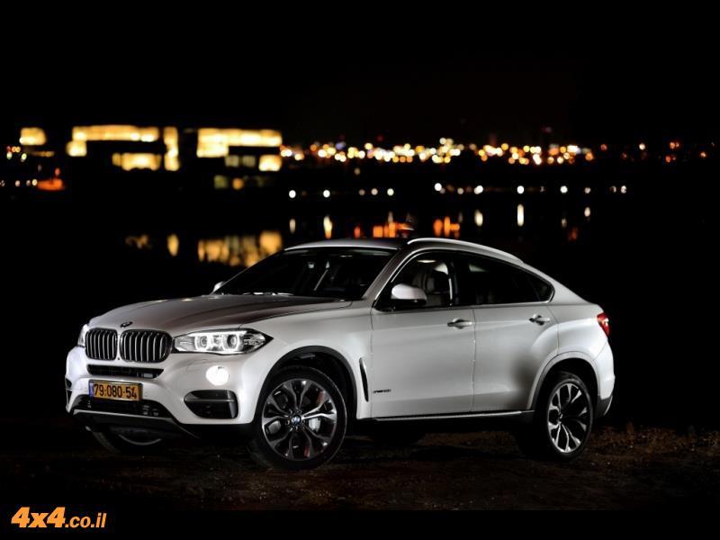מבחן דרכים: ב.מ.וו BMW X6