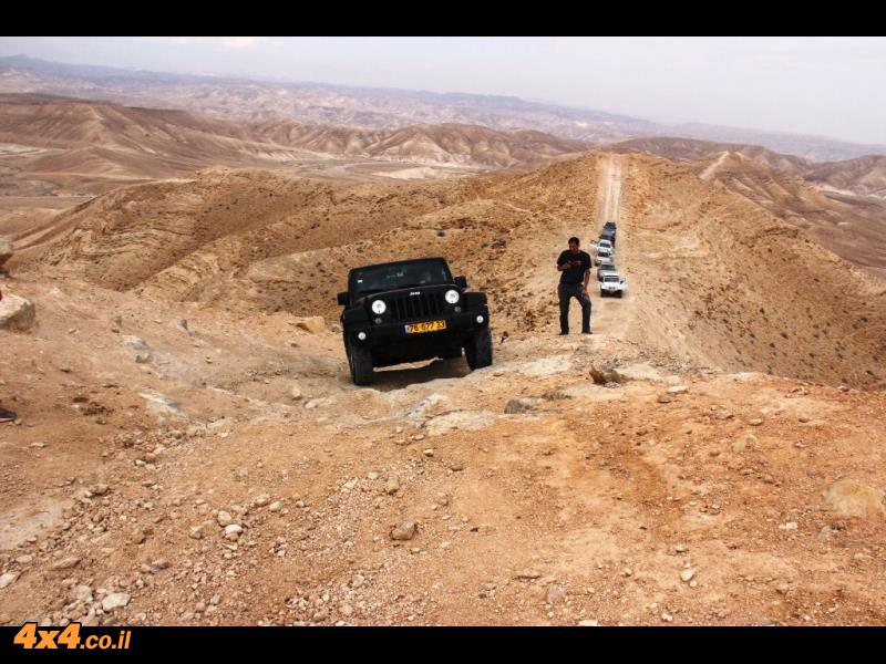 דרום מדבר יהודה - בעקבות שטפונות מדריך וייזל עדי