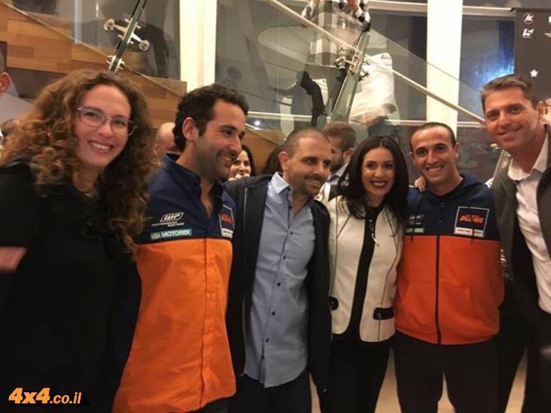 רוכבי אופנוע זכו בפרס הספורט הישראלי לשנת 2015