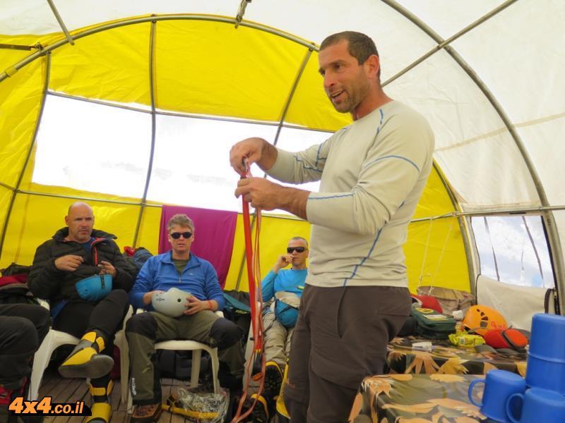 ההכנות במחנה הבסיס