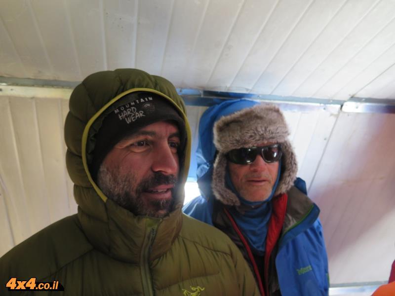 קולרה - 6000 מטרים בגובה
