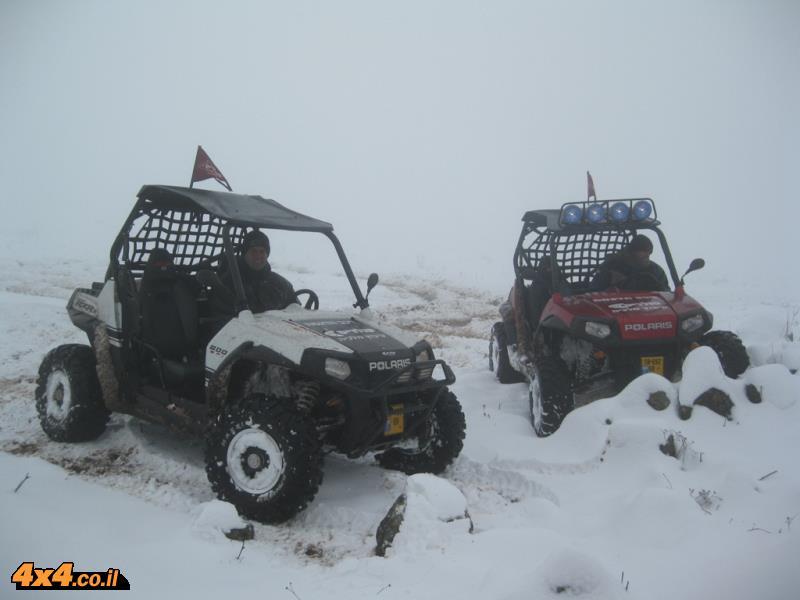 RZR בשלג... כללים לטיול שלג מוצלח