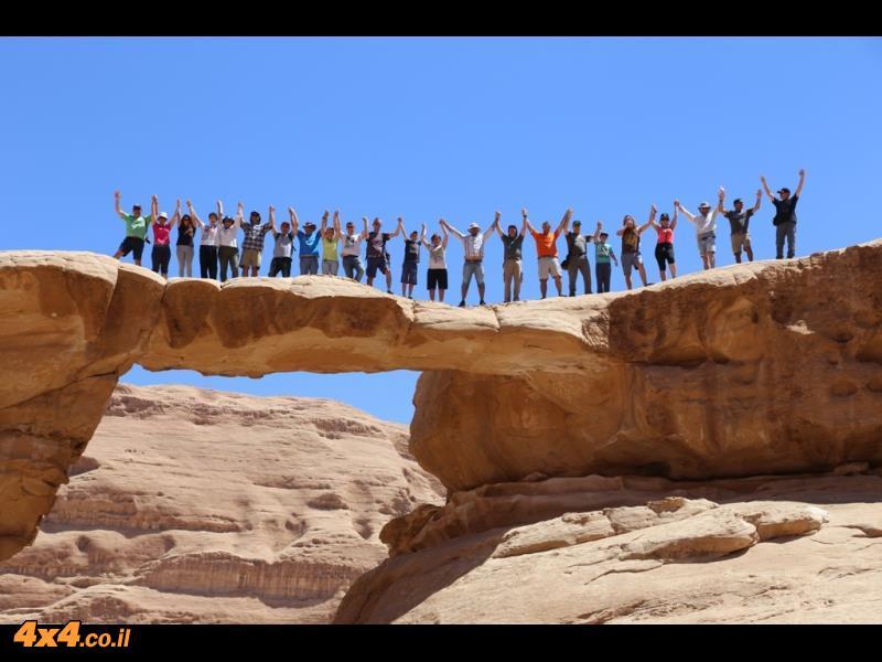 טיול ג'יפים במערב ירדן - מוואדי ראם לפטרה - סוכות 2016