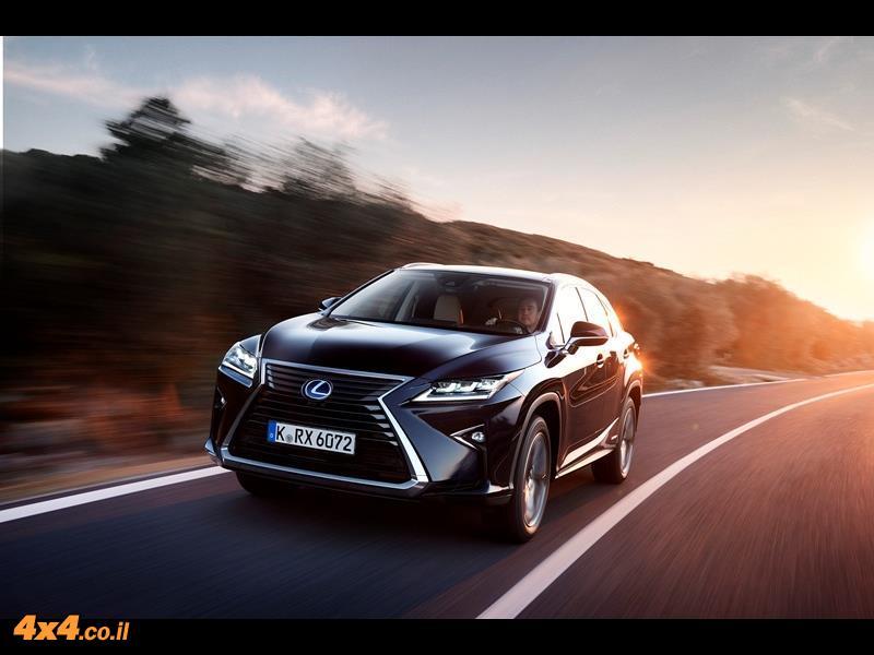 מבחן דרכים לקסוס Lexus RX