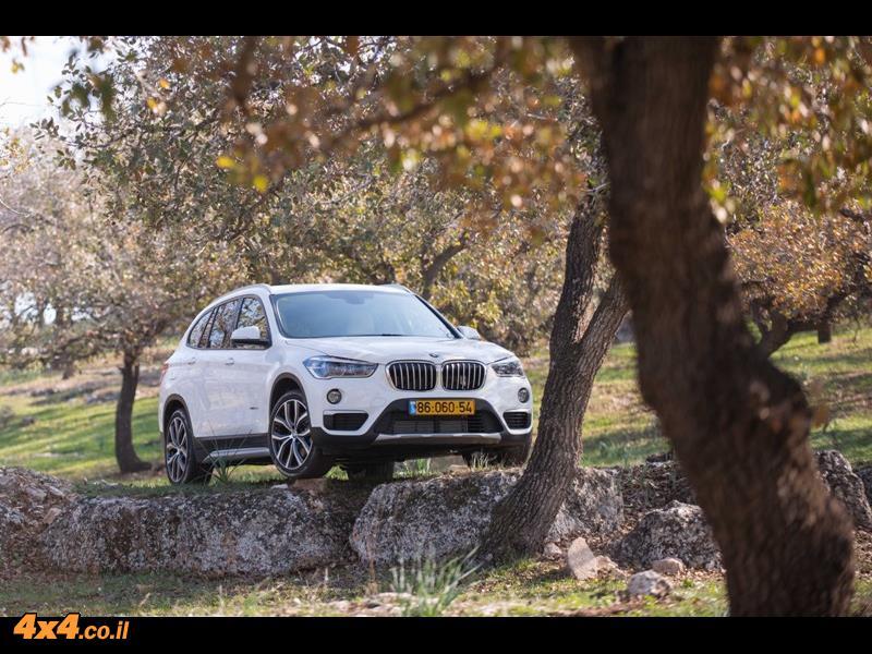 מבחן דרכים: ב.מ.וו. BMW X1