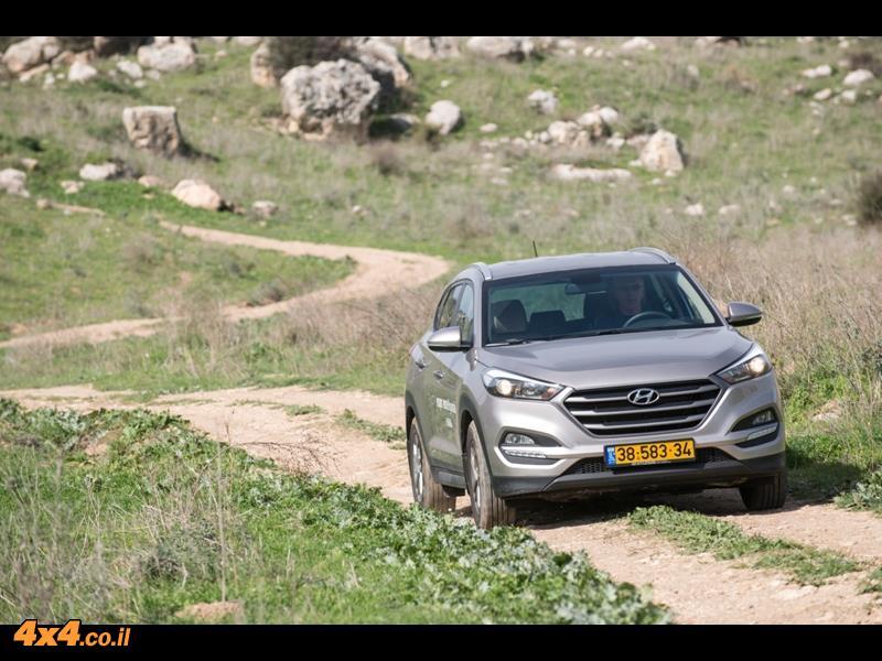 מבחן דרכים יונדאי טוסון Hyundai Tucson