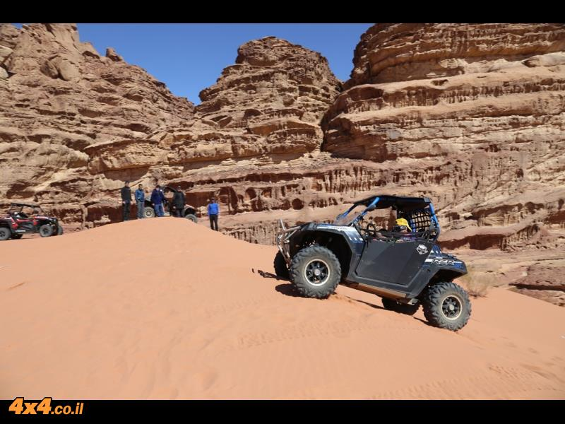 המדבר הדרומי - דיונות והקשתות של חרזה