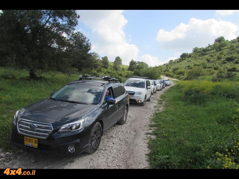 סיכום הדרכת נהיגה סובארו דרייב, הר חורשן, מרץ 2016