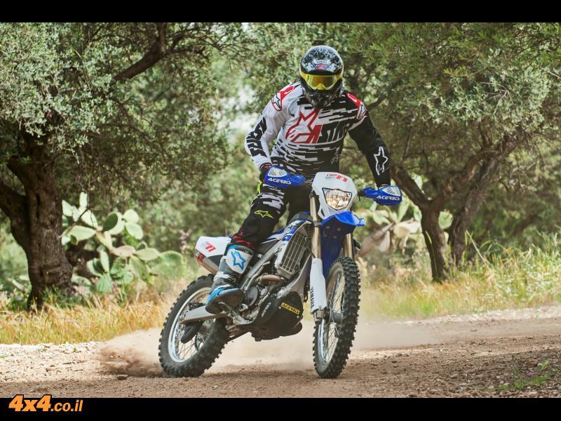 דם כחול - השקת אופנוע ימאהה WR250F YAMAHA