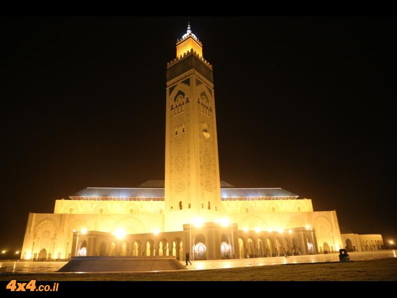 מסגד חסן ה-2 - על שפת האוקיינוס האטלנטי, קזבלנקה