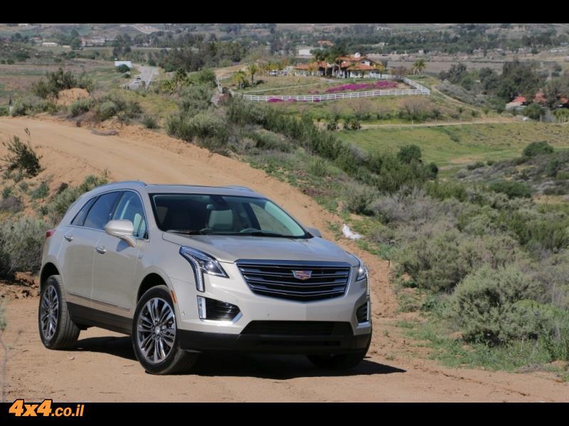 מבחן דרכים - קאדילק Cadillac XT5