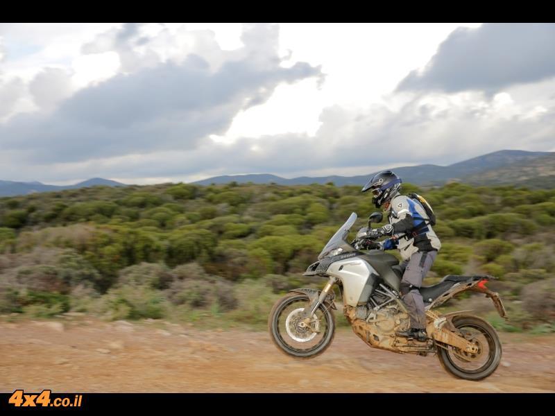 מבחן אופנועים - דוקאטי מולטיסטרדה Ducati Multistrada Enduro