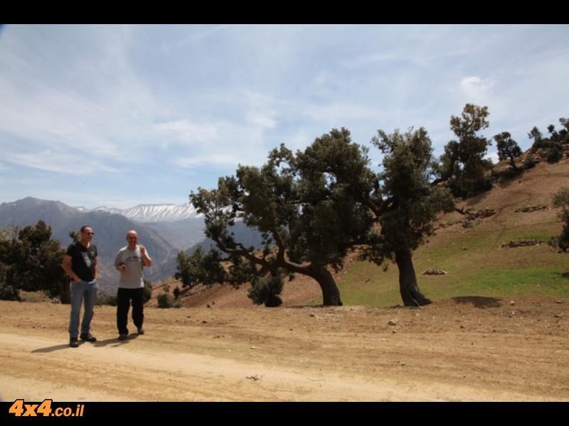 מתחילים לטפס בהרי האטלס