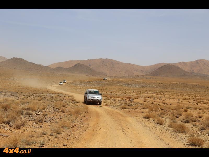 שבילים מהירים מהנים לנהיגה - כמעט ראלי מרוקו