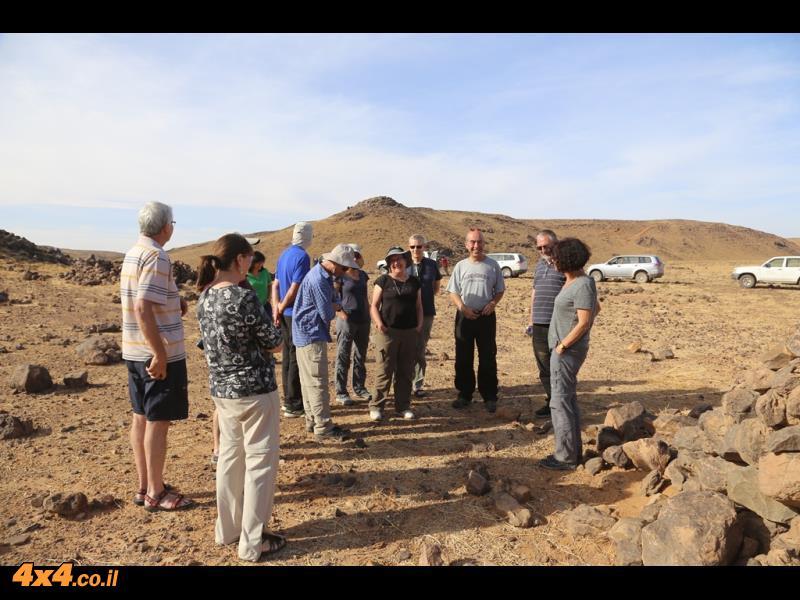 בוקר טרשי במדבר הסהרה