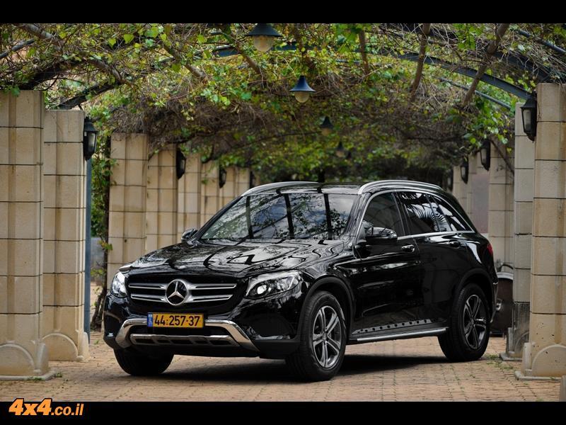 מבחן דרכים - מרצדס Mercedes GLC